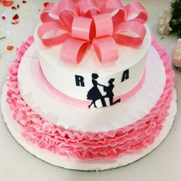 Attractive_Two_Tier_Cake - 3kgs